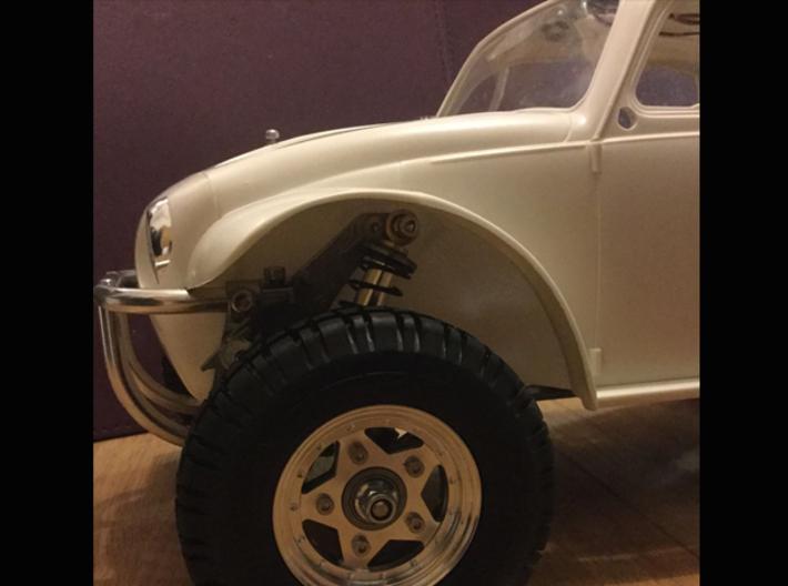 Sand Scorcher Wheel Arches / Inner Fenders, Full S 3d printed