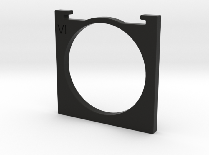 series VI [6] filter holder for Kinoptik Tega lens 3d printed