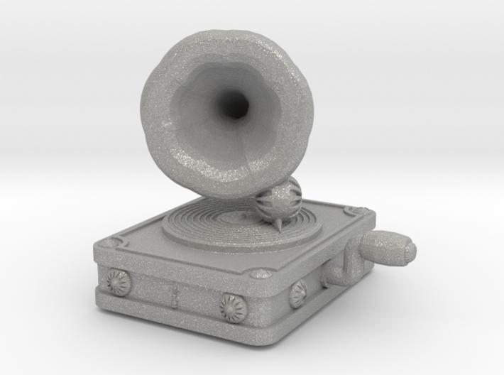 Gramaphone Half Inch Game Piece 3d printed