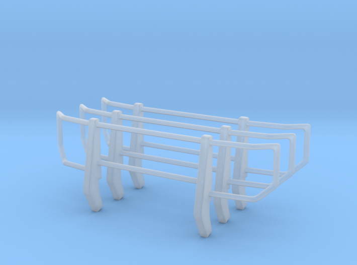 Bull Bar 1/24 scale 3d printed