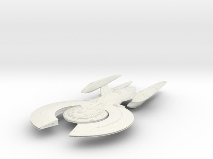 Moss Class BattleCruiser 3d printed