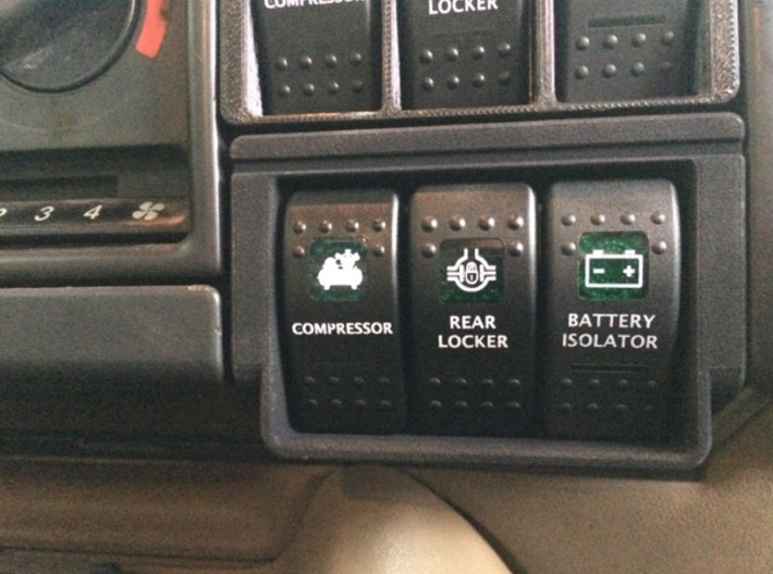 Landrover Discovery 2 Window Switch Panel