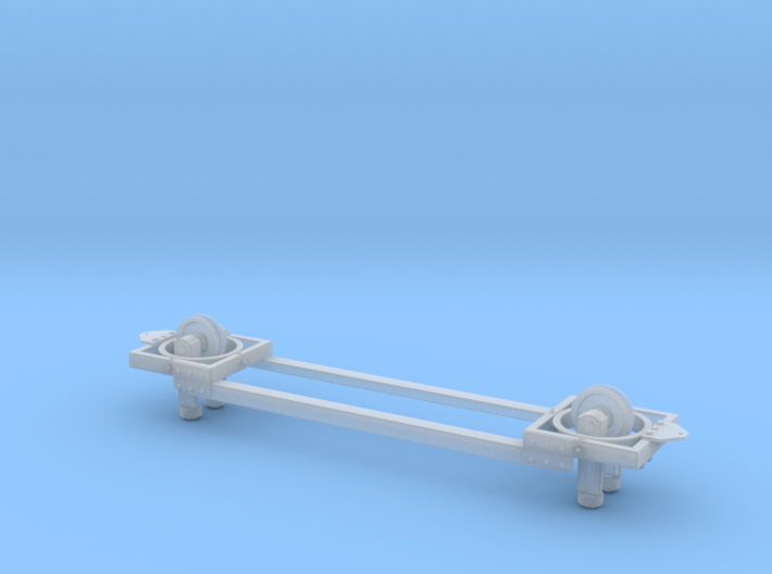 1:32 Road Machines Monorail Basic Frame 3d printed