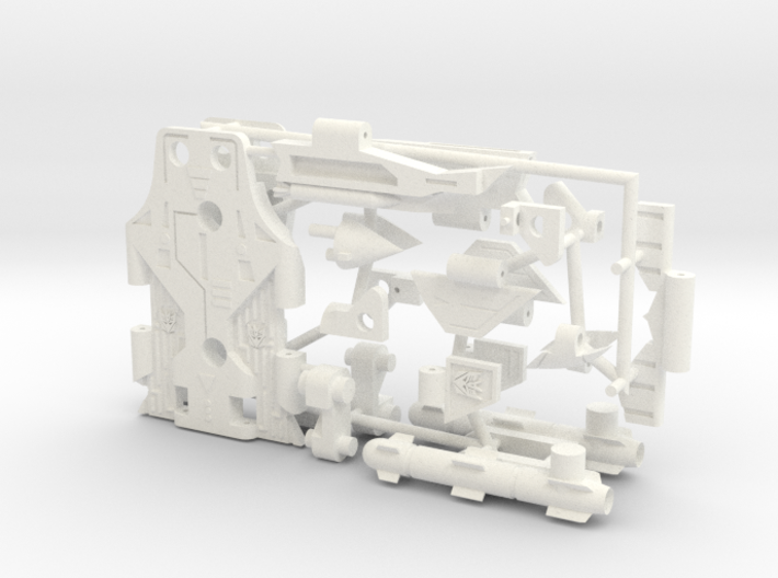 Transformers Cassette-F22 cheap version 3d printed