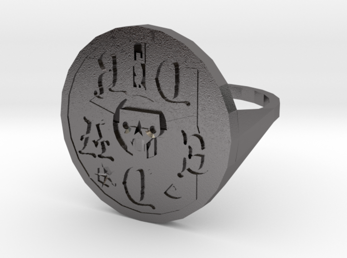 Signet Dread v01 S 3d printed