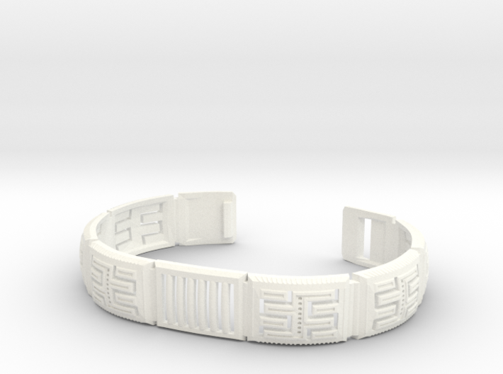 Viking Module Bracelet 1 3d printed