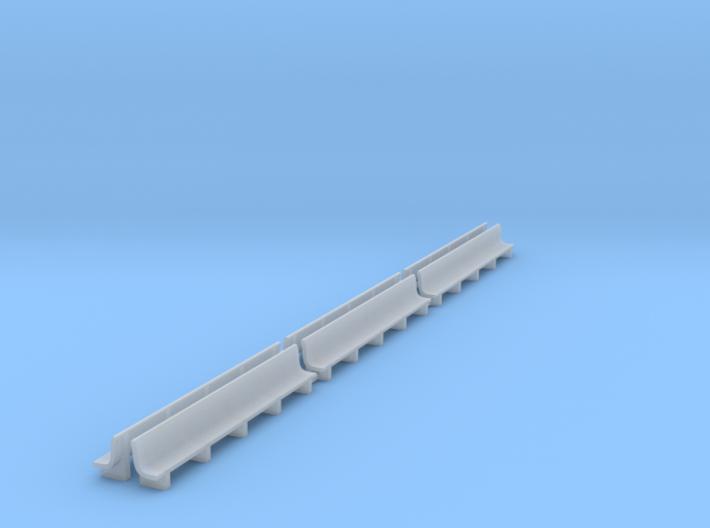N/OO Scale Bench x6 3d printed