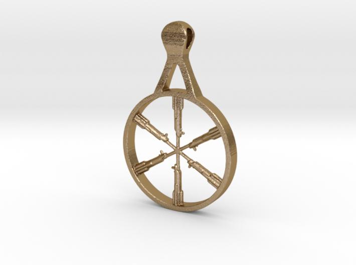 Graflex Cross 6 Saber pendant  3d printed