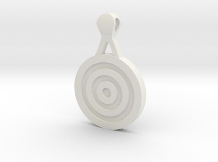 Target Pendant 3d printed