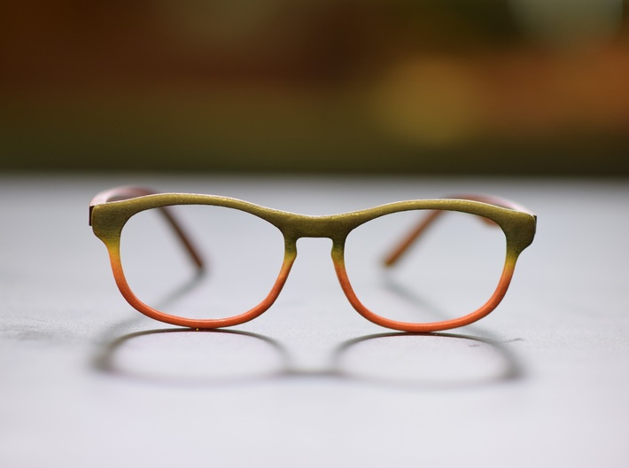 Optoid Hybrid MkVIII: Custom Fit Rx Eyewear 3d printed