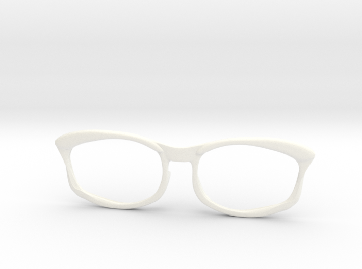 Optoid Hybrid MkXIII: Custom Fit Rx Eyewear 3d printed