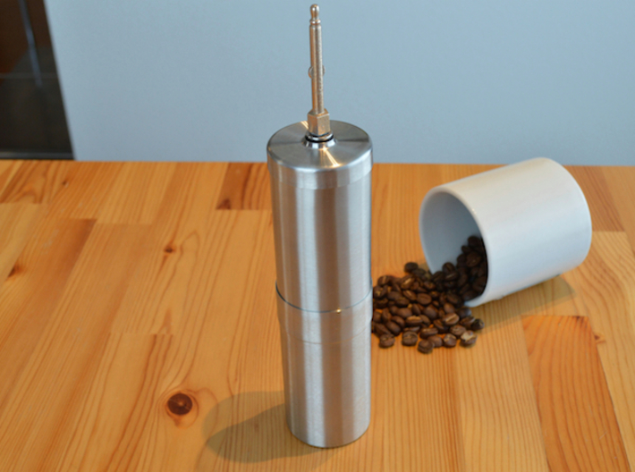 NEW! Coffee Grinder Bit For Hand Mixer CHP-A1RE 3d printed With Porlex Stainless Steel Coffee Grinder