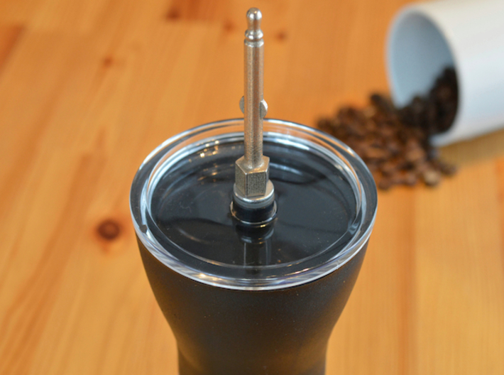 NEW! Coffee Grinder Bit For Hand Mixer CHP-A1RE 3d printed With Hario Coffee Mill Slim Grinder