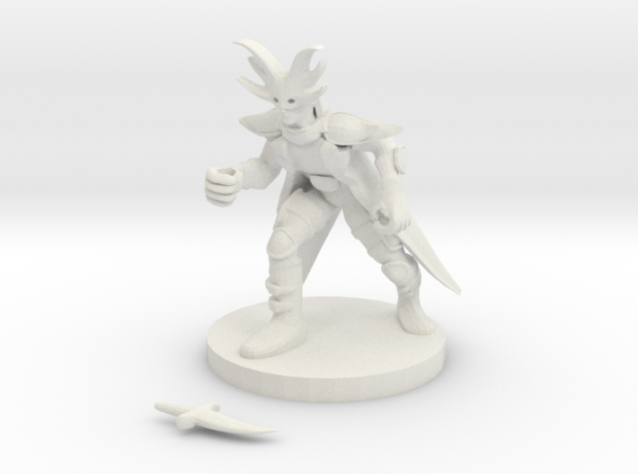Dragonclaw Cultist 3d printed