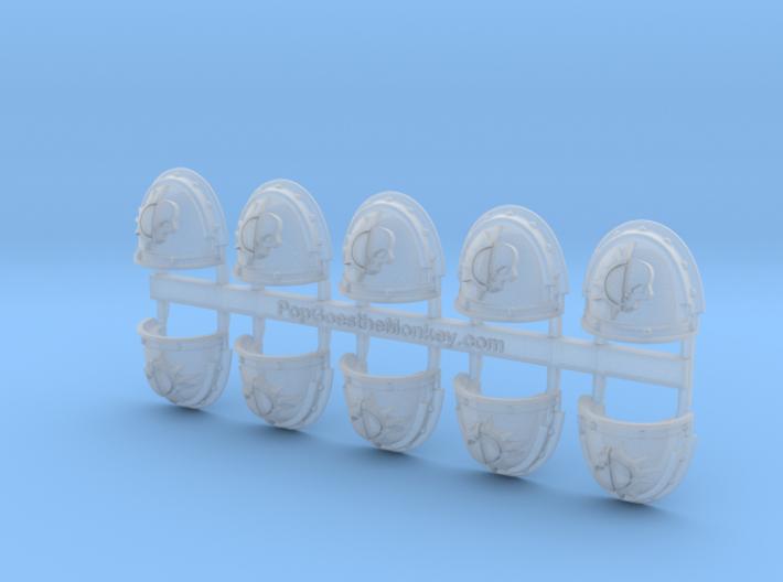 Dusk Raiders- Gen3:Iron Right Shoulder x10 3d printed