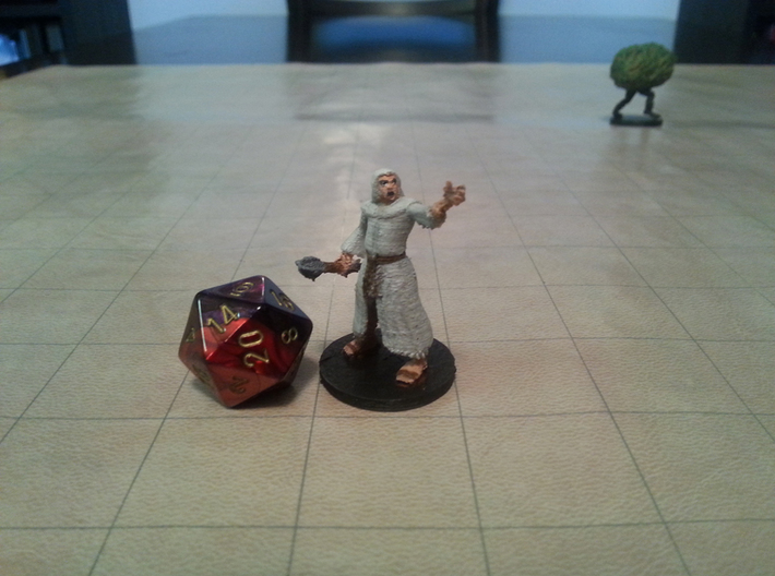 Priest 3d printed
