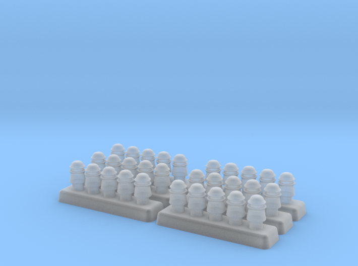 1/35 Powerline Insulators - Set of 30 3d printed