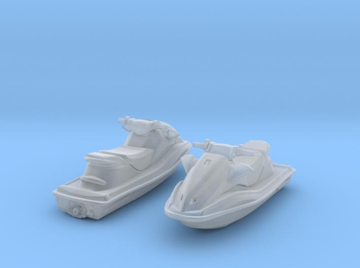 1-72 Generic Jet Ski Set 3d printed