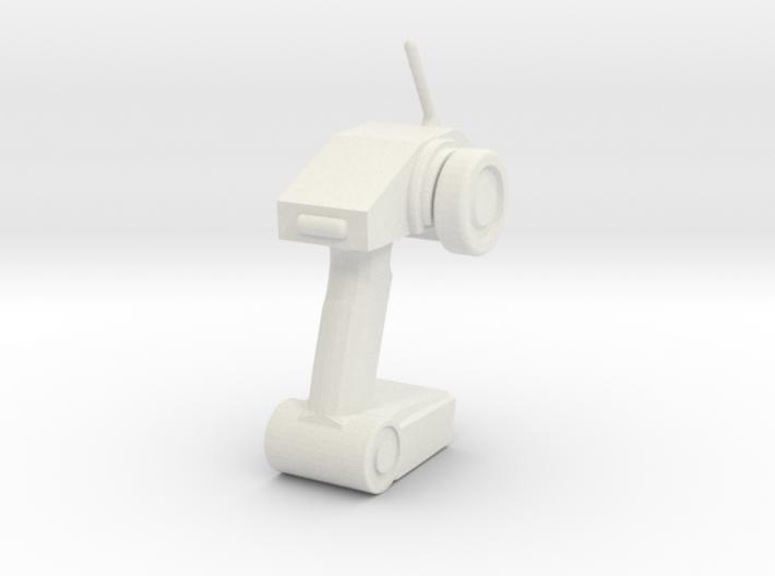 RC car transmiter model 3d printed