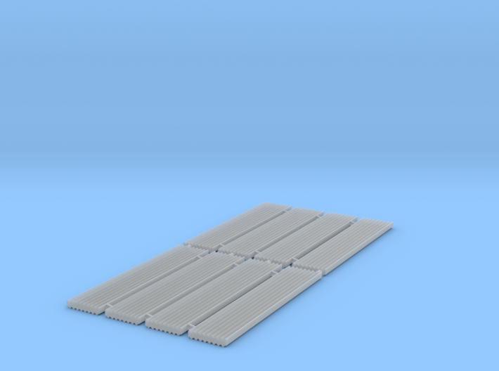 Corrugated Iron Sheets 1/152 N scale 3d printed