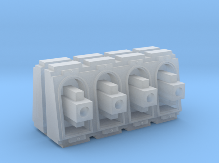Weapon battery set 3d printed