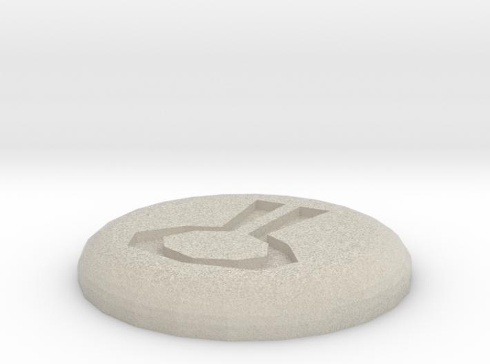 Nature Rune 3d printed