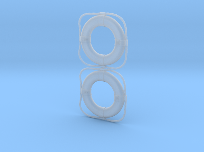 B15F Life Rings (Pair) 3d printed