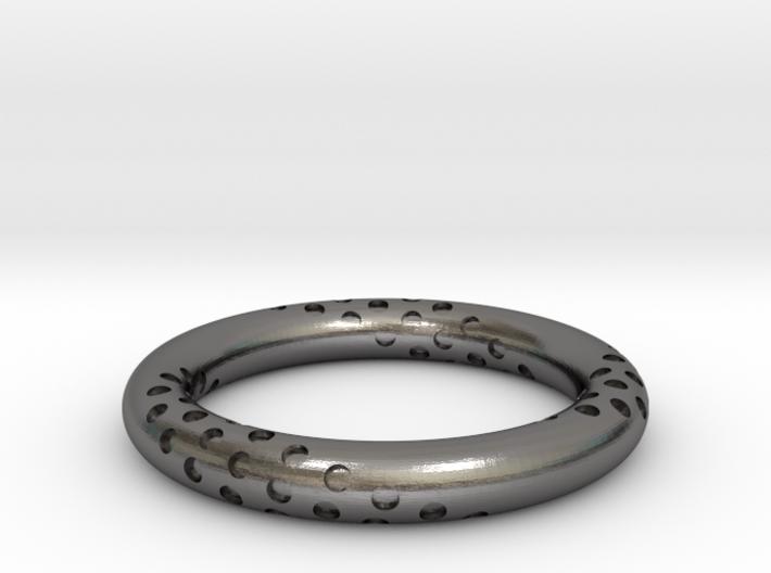 Bubbles - Steel Materials 3d printed