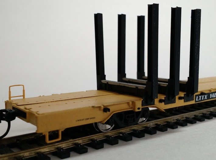 Jh-90-body-ho 3d printed detail showing log bunks