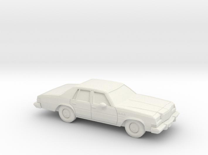 1/87 1977-78 Buick Le Sabre Sedan 3d printed