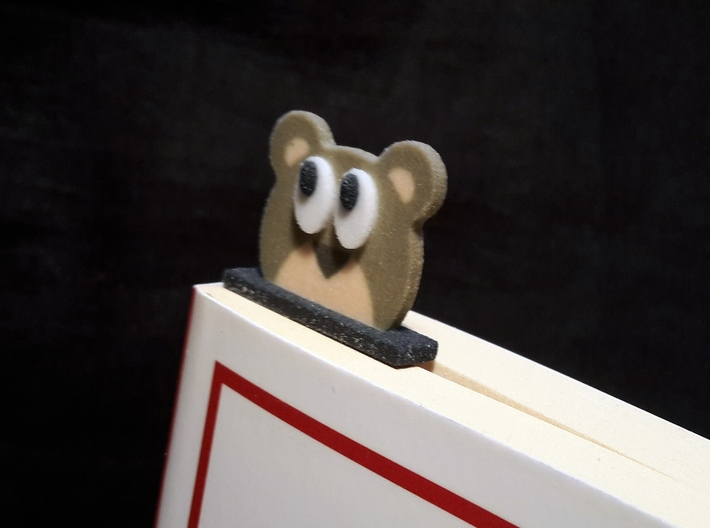 bookmark - S91 - thinking! 3d printed