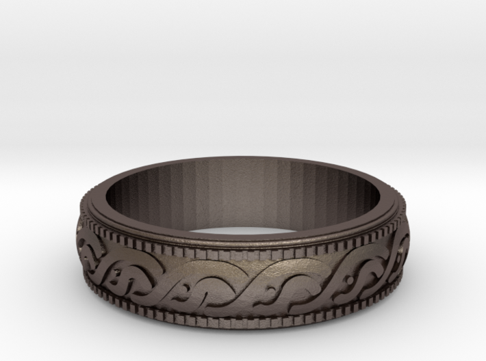Size 10US Celtic Ring 3d printed