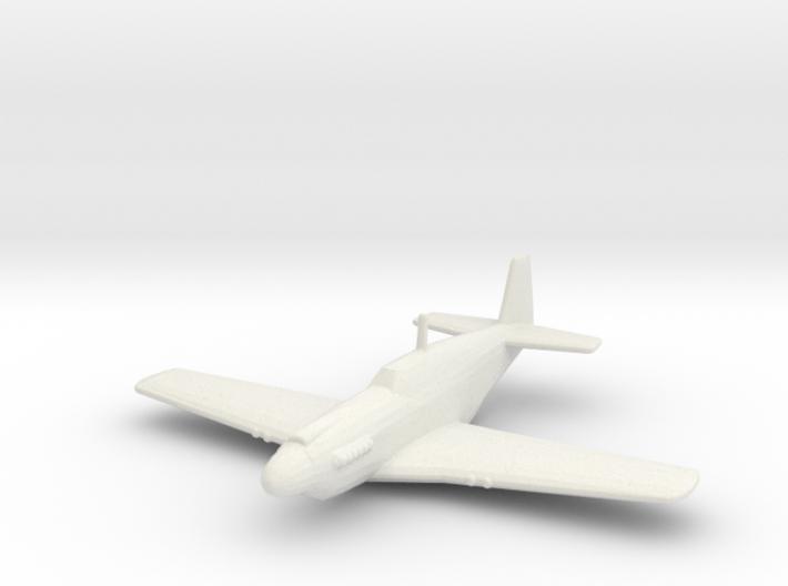 North American P-51A 'Mustang' 3d printed