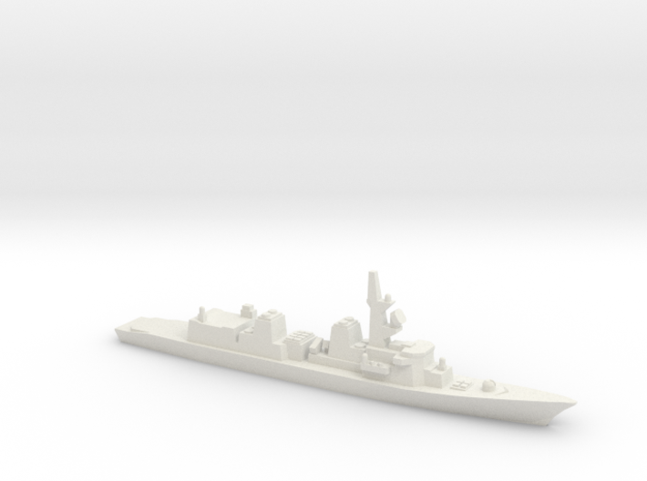 Murasame-class destroyer, 1/2400 3d printed