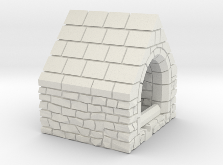 HOvMb07 - Brittany village 3d printed