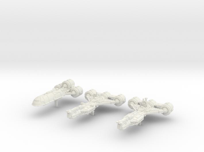 (Armada) Consular Transport Set I 3d printed