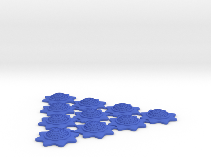 Stackable Shield Token 10 Pack X-Wing Miniatures 3d printed