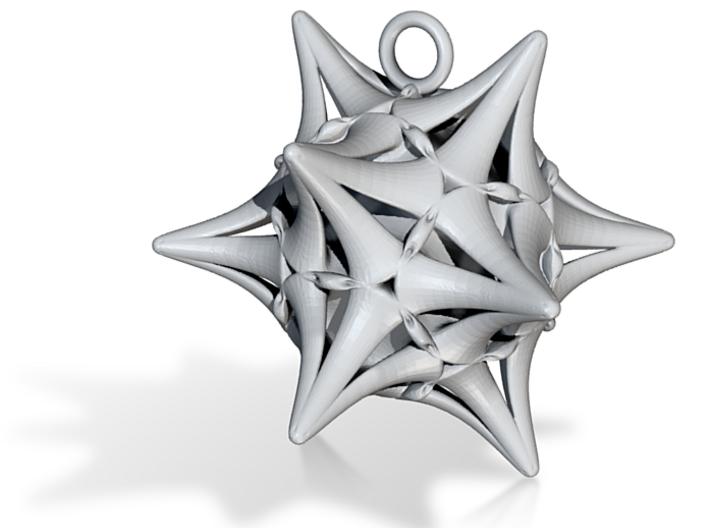 Ersilia -Pendant- 3d printed