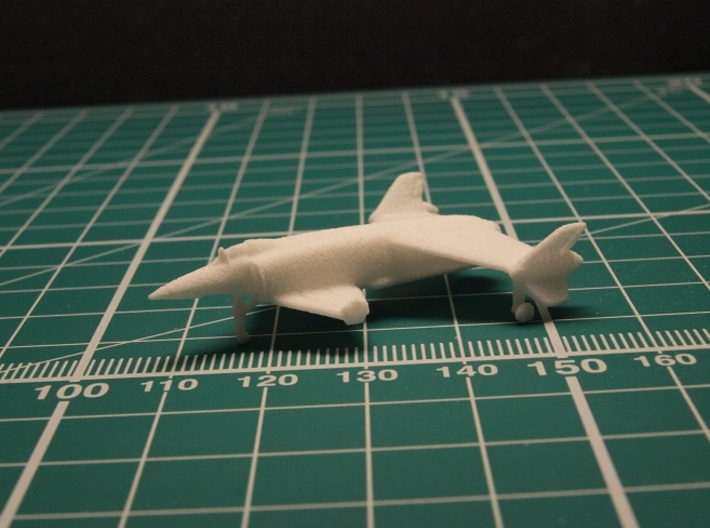 Rockwell XFV-12A 1/285 6mm 3d printed