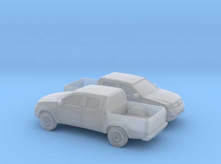 1/160 2X 2005-14 Toyota Hilux 3d printed