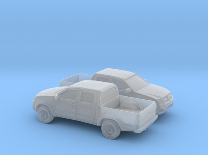 1/148 2X 2005-14 Toyota Hilux 3d printed