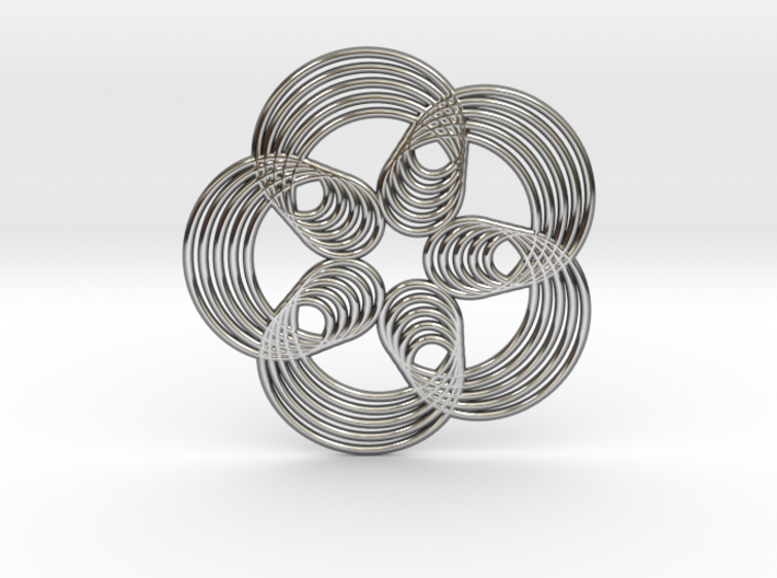 0571 Triple Rotation Of Points (5 cm) #003 3d printed