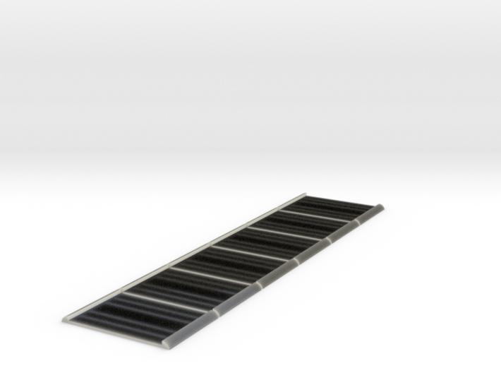 Unilux Plisse screen door bottom strip guides. 3d printed