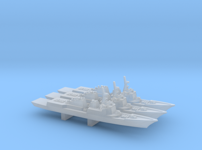 Sejong the Great-class DDG x 3, 1/6000 3d printed