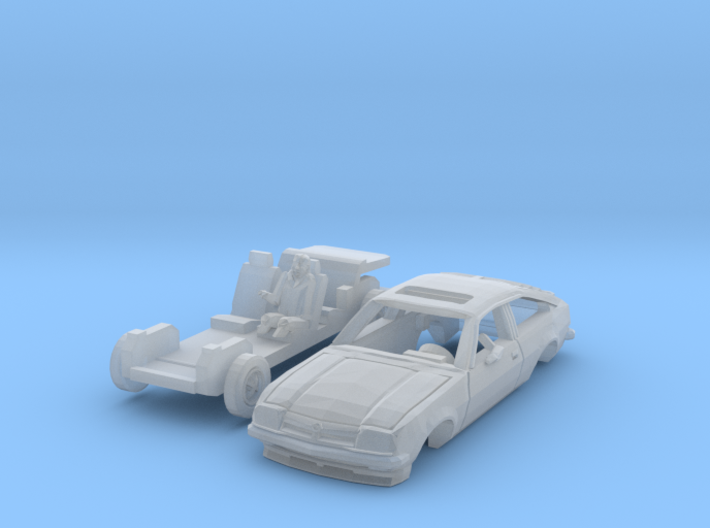 Opel Manta CC mit Fahrer (TT 1:120) 3d printed