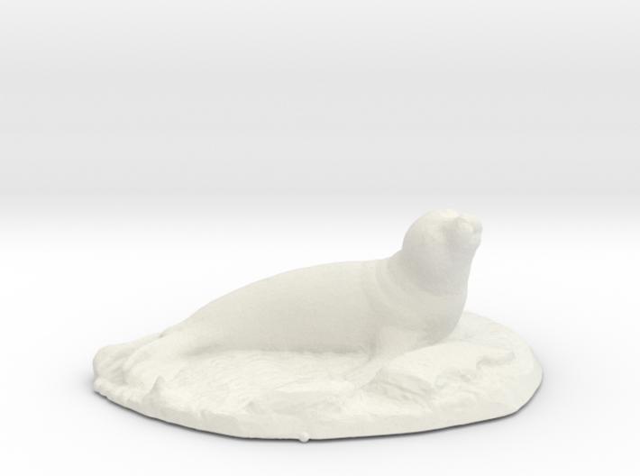 Seal on rocks 3d printed