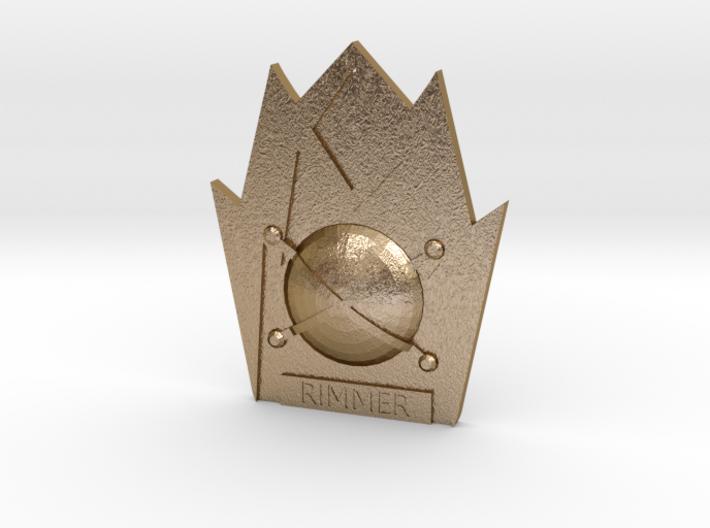 Rimmer Badge (Red Dwarf) 3d printed
