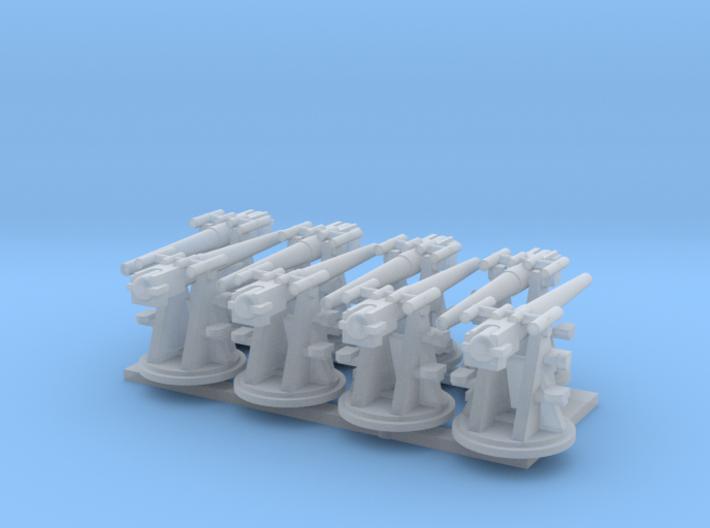 RN 1:350 3 Inch 20 cwt AA Gun 3d printed