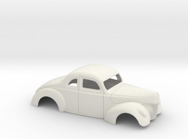 1/8 1940 Ford Coupe Stock 3d printed
