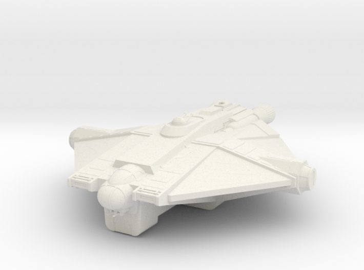 The Ghost 3d printed